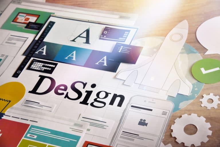 Grafik und Logo Design