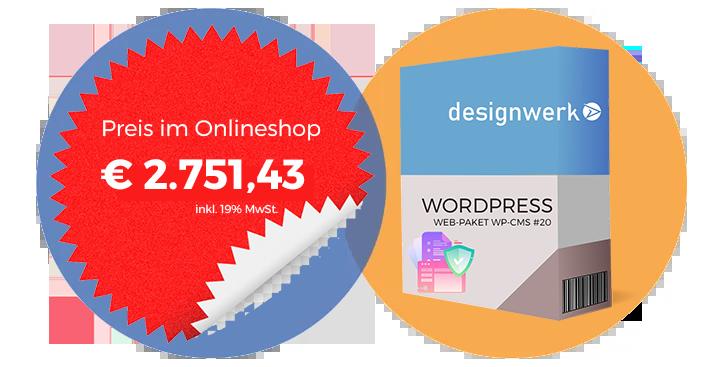 Profipaket WordPress CMS 20