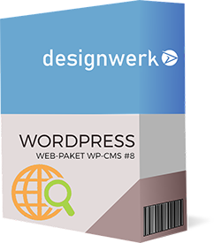 Webpaket Wordpress CMS 8