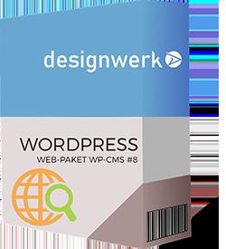 Webpaket Wordpress CMS 8